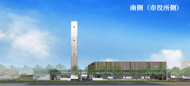 おしゃれな新型清掃工場、新武蔵野クリーンセンター(仮称 ...