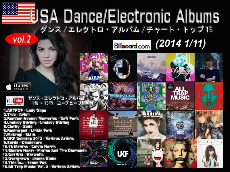 アメリカ/エレクト/クラブ・アルバム/音楽/ランキング(2013 1/11 ...