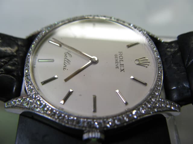 reputable site 80cbf 5c39a ロレックスチェリーニ 紳士物手巻き時計を修理です。 - 正ちゃん ...