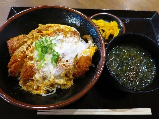 かつ丼+味噌汁セット