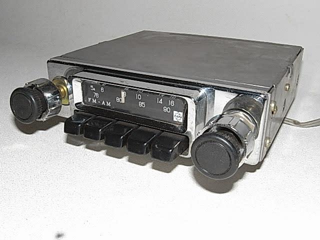 松下製のAM/FMカーラジオ (1972年頃) - テレビ修理-頑固親父の修理日記