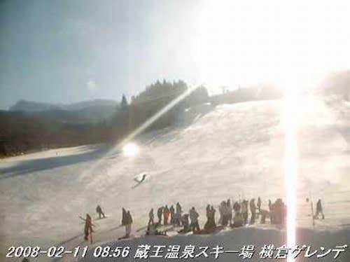ライブ 場 カメラ 蔵王 スキー 温泉