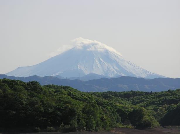 狭山湖 富士山