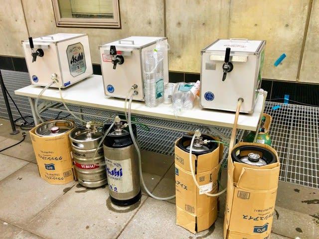 大学のイベント生ビールサーバーレンタル・お酒の配達はお任せくださ