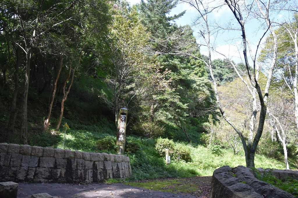 万葉の森南入口