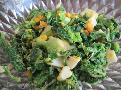 サラダ 小松菜 小松菜は生でも食べられる!おすすめサラダレシピ総ガイド