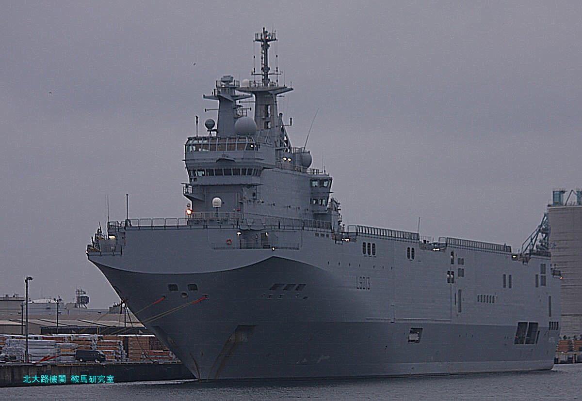 日曜特集】ミストラル東京寄港【1】最新鋭フランス海軍指揮戦力投射艦 ...
