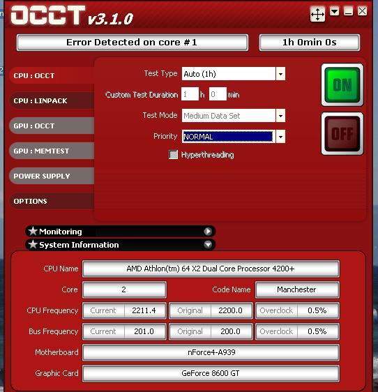 Athlon64x2 4200+ マシンが不調に? - 私のPC自作部屋