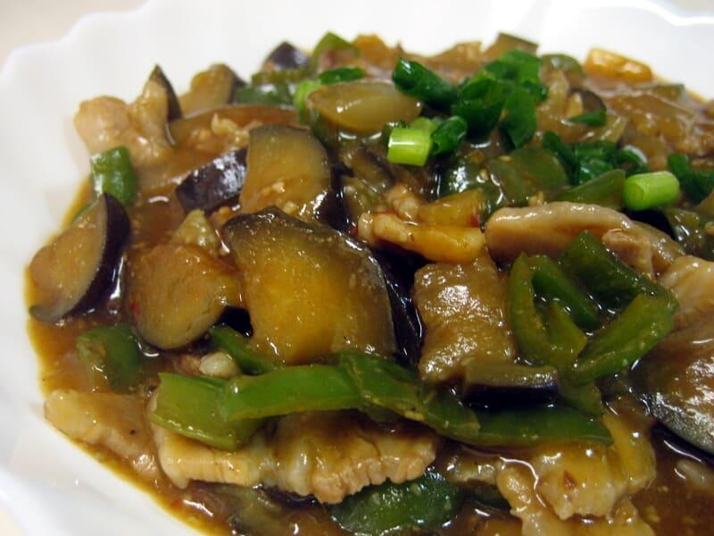 09月26日 中華風ナスとピーマンのピリ辛炒め