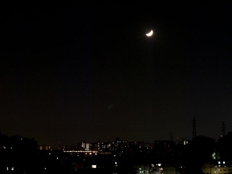 10月29日 西の空