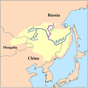 川 地図 アムール