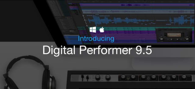 motu digital performer 9.5