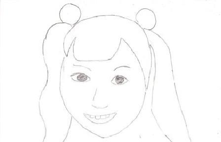 相川 聖奈」」さんの似顔絵 - 爺チャンの似顔絵帳