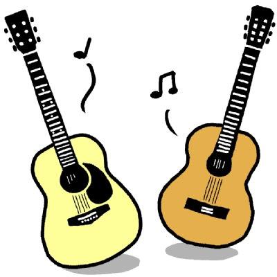 ギター イラスト アコースティックギター シンプルイラスト素材