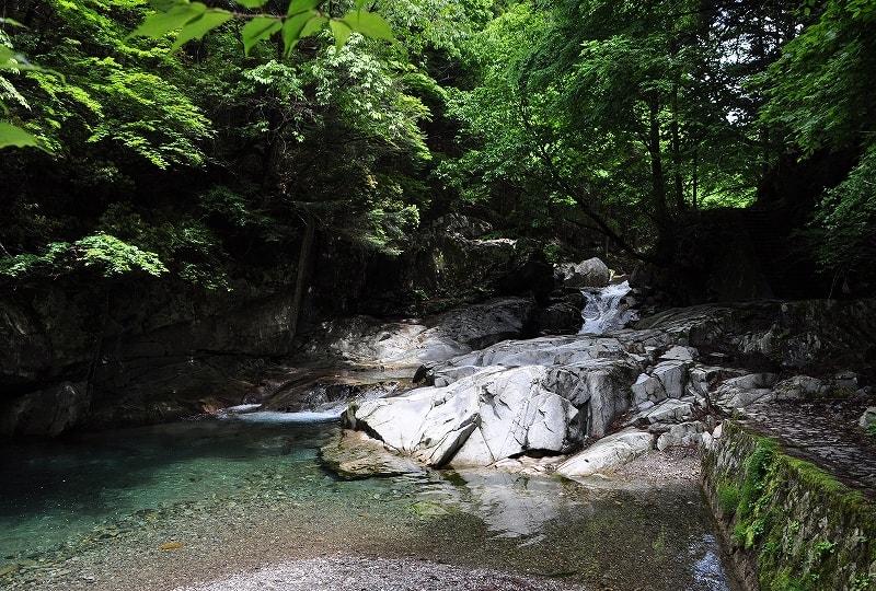 渓流・河鹿の滝