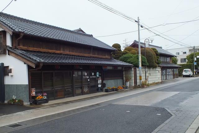 常陸太田の古い民家
