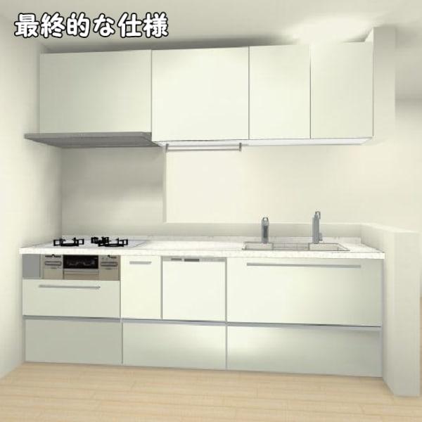 最終的な仕様システムキッチン