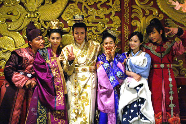 Baek jin hee and park seo joon dating games 5