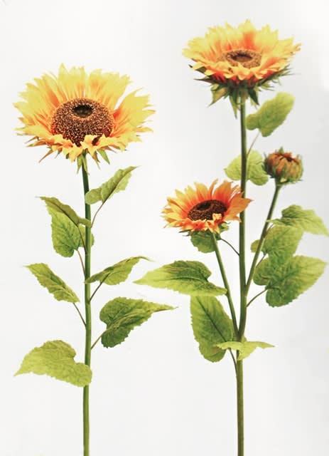 大きい ひまわりの造花