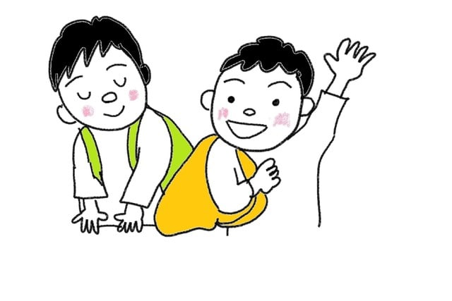 さようなら スーザンの 日本語教育 手描きイラスト