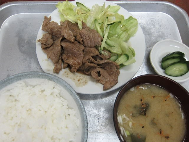 豚肉生姜焼き定食