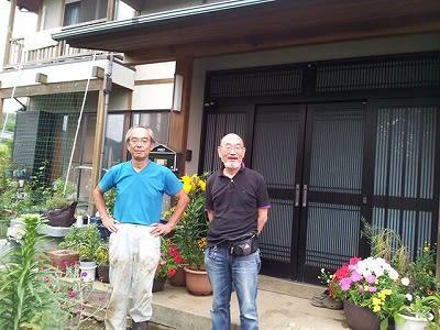 菅井さんの自宅で