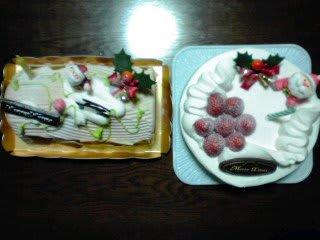 一日早いお誕生日ケーキ!