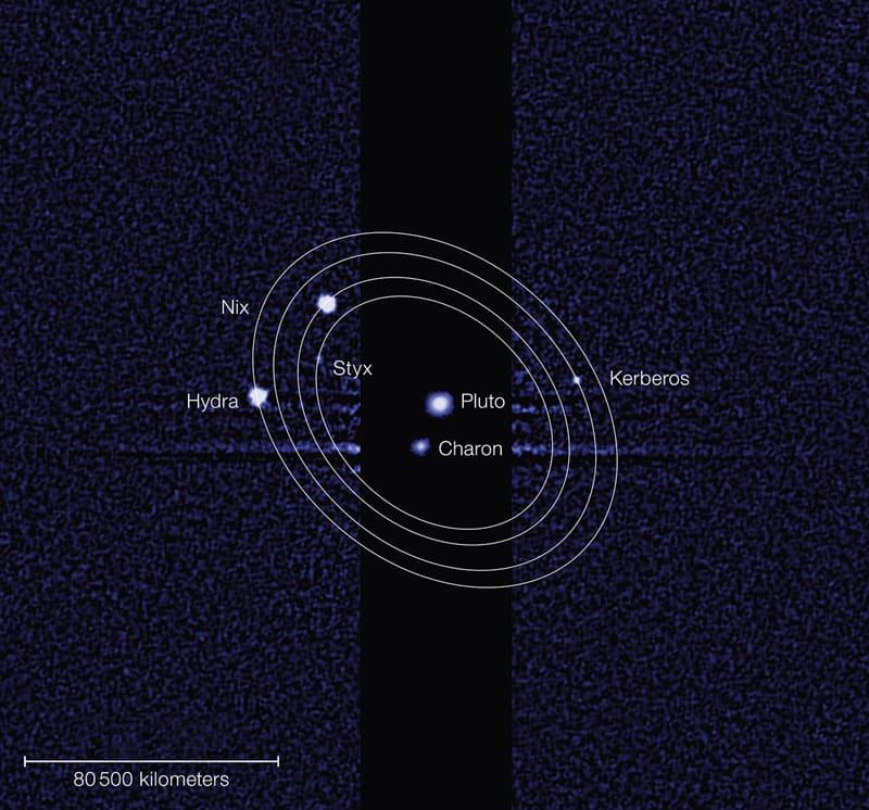 """冥王星の衛星に命名 """"ケルベロス..."""