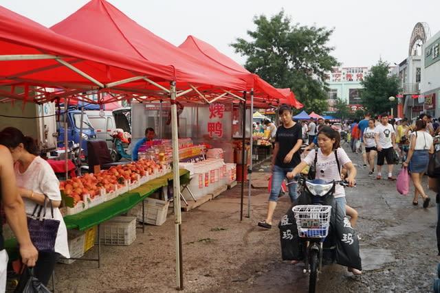 村の露天商 - ごーさんの中国放...