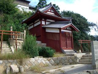 大可島の稲荷神社(福山市鞆町)