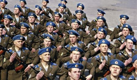 ロシア空挺軍 - 浮世風呂