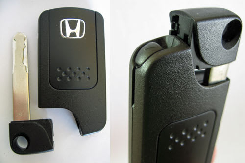 Hondaスマートキーの内蔵キー