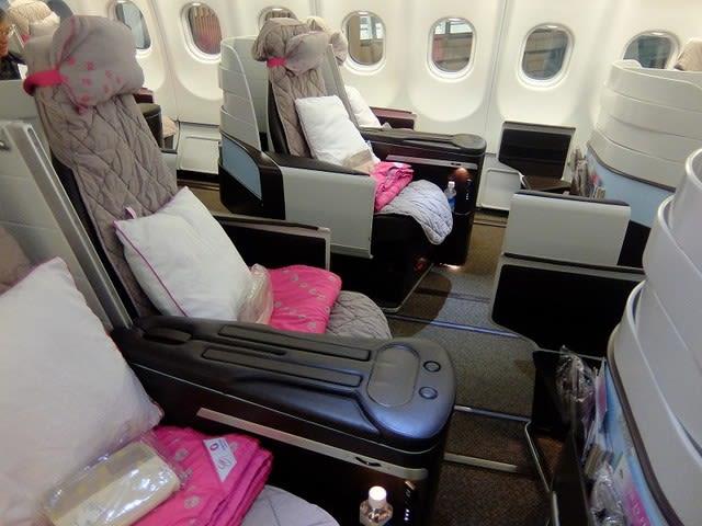 ハワイアン航空 ハワイ ビジネスクラス