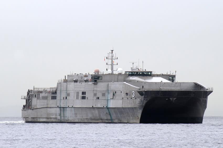 米海軍 遠征高速輸送艦 T-EPF-3 「 MILLINOCKET 」( 軍事海上輸送軍団 ...