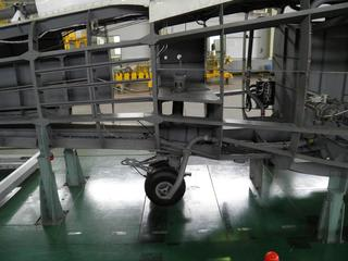 SH-60J整備教材(拡大・尾輪部)