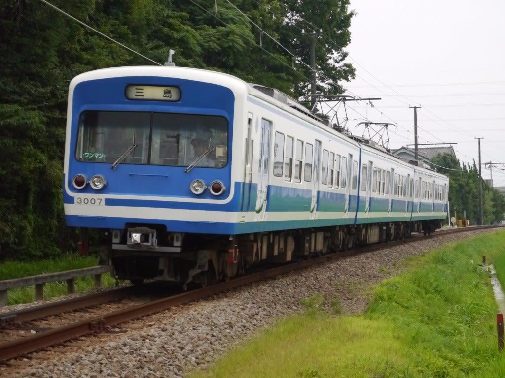 伊豆箱根鉄道3000系一次車