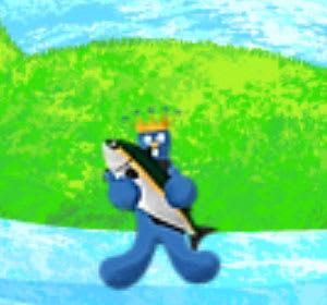 魚を捕まえるムズムズ