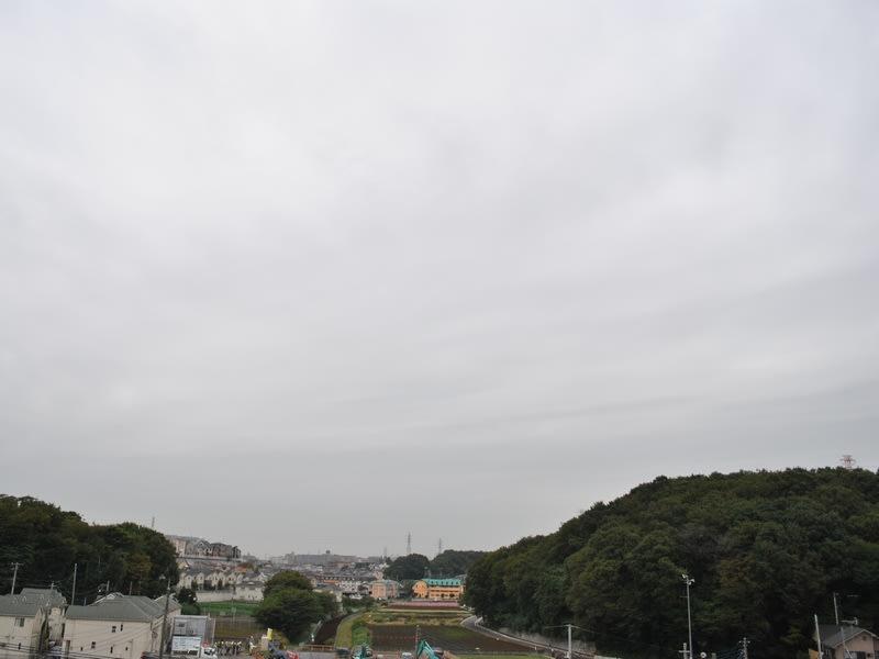 10月28日 朝の雲