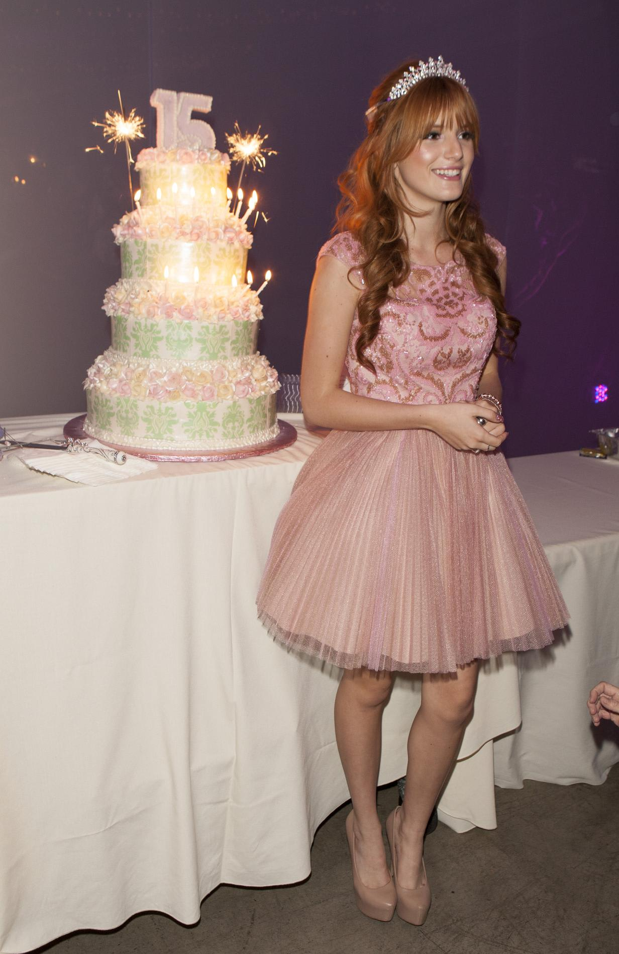 bella thorne her quinceanera amp 15th birthday party 20