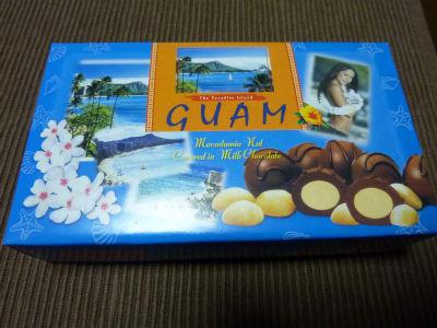 グアムのお土産☆マカデミアナッツチョコレート♪ , 人生は