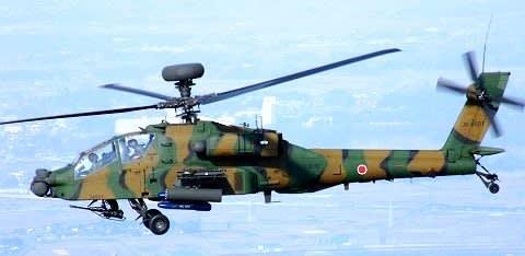 AH-64D アパッチ【岩淸水・防衛省装備】