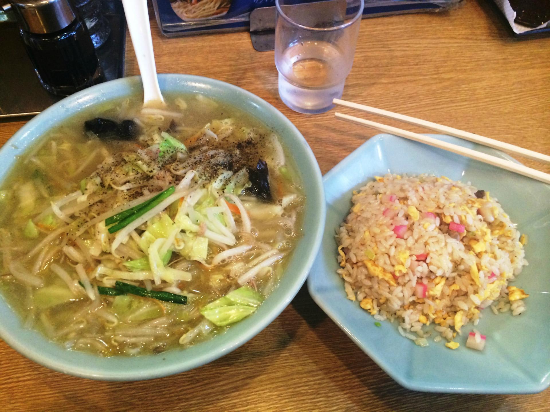味一: 目黒三田から不動前へ、タンメンと炒飯が売りの中華 ...