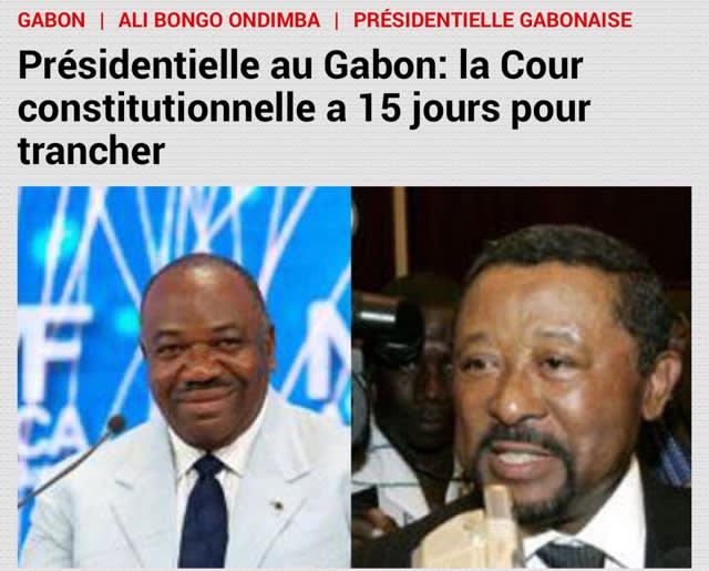 続報】ガボン大統領選挙(9)〜...