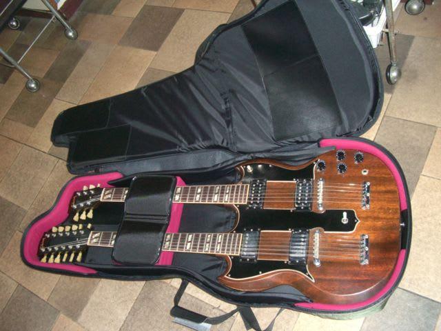 ネック ギター ダブル Gibson EDS