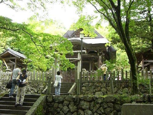 樫船神社(大明神=大山喰命・女体御前)