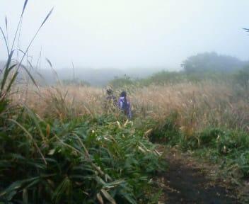 くじゅうは霧の中