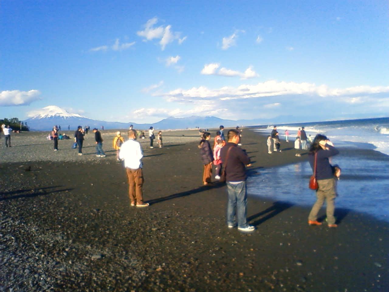 沸き返る富士山の世界文化遺産登録 三保の松原の逆転登録 - まつや清の日記