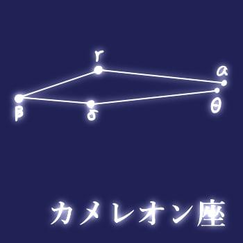 星座紹介「カメレオン座」 - San...