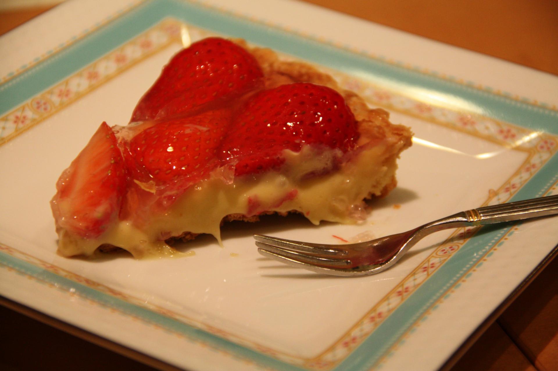 レシピ いちご タルト