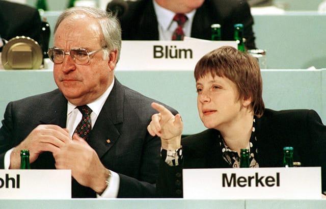 ヘルムート・コール元ドイツ首相...